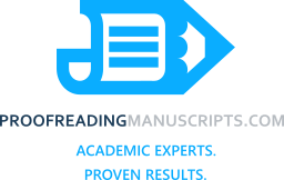 Dissertation & Thesis Manuscript Proofreading
