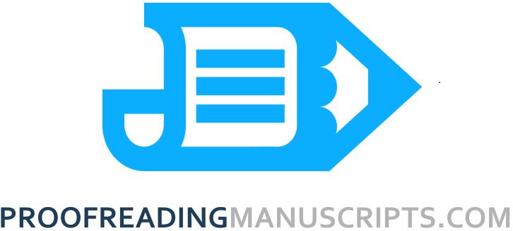 Proofreading manuscripts logo